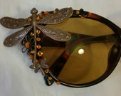 Cat Eye Victorian Inspired Sunglasses
