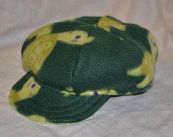 Reversible Turtle Newsboy Hat
