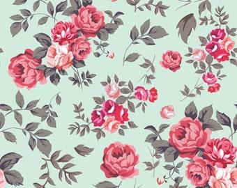 Vector rose seamless pattern