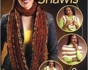 Eternity Shawls Crochet Pattern Book - 8 Designs