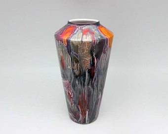 Hand-painted West German vase by Scheurich (507-26)