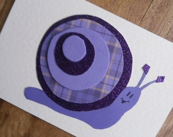 Snail card for any occasion