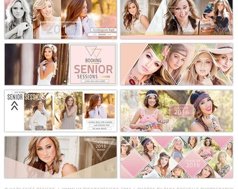 Senior Facebook Timeline Cover Template, Senior Facebook Cover Templates, Senior Templates, Facebook Template for Photoshop - FB7687