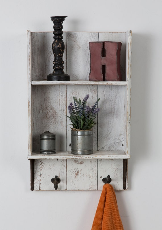 Awesome In The Bathroom, A Few Wallmounted Shelves Can Add Valuable  View In Gallery