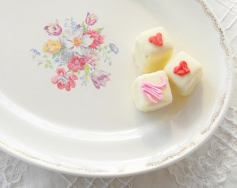 Vintage Good Housekeeping Morning Glory Cottage Style Platter, Tea Party, Wedding, Farmhouse, Housewarming Gift, Ca.1940's