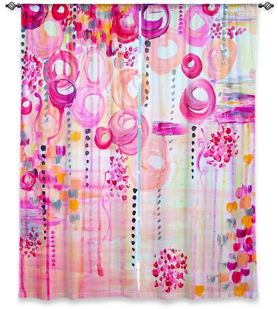 Girly Kitchen Decor: BUBBLEGUM POP Girly Pink Swirls Nursery Fine Art By