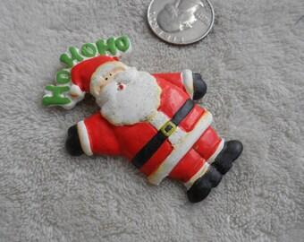 Vtg Pin-Christmas Santa-P3811