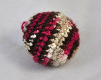 Cat Toys - Cat Toy Balls - Choco Cherry Color