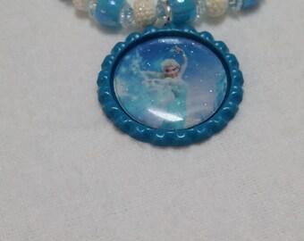 These are Frozen inspired bracelets for little girls.