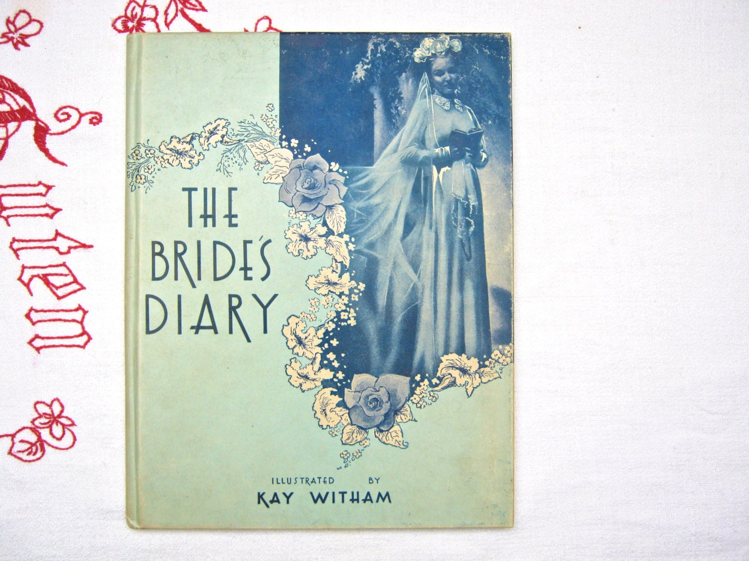 Emily Post Wedding Gift Etiquette: Bride's Diary Vintage Book 1950s Wedding Etiquette