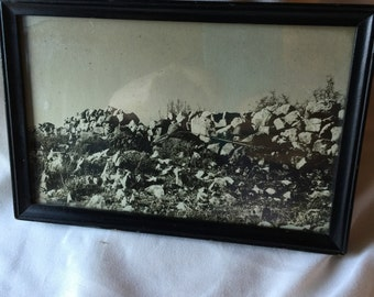 World War II Camouflage Photo - Black and White Photo Collectible Photograph