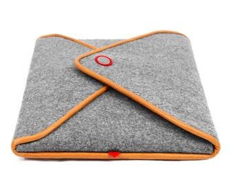 iPad Case iPad Sleeve Tablet Case iPad Cover Leather Purse Genuine Leather iPad Bag for iPad Air 1 2