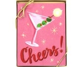 Cheers! Card - Set of 8