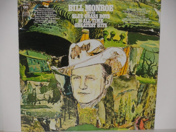 Bill Monroe And His Blue Grass Boys The Father Of Bluegrass Music
