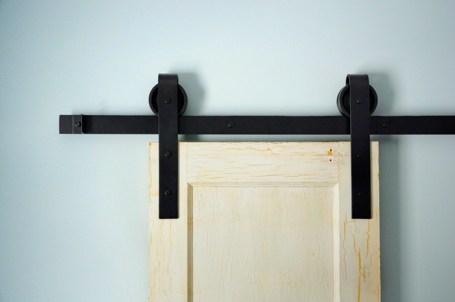 Barn door hardware kit by architecturalopening on etsy for Custom barn door kits