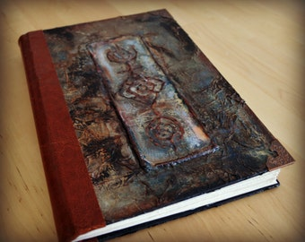 Handmade Bound Journal, Notebook, Book of shadows, Sketchbook with a very soft recycled 240gsm paper