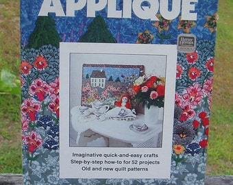 Vintage 1978 Applique Book//Better Homes and Gardens