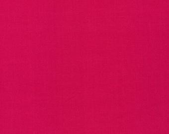 SALE--CIRRUS organic cotton solids--FUCHSIA--Cloud9 Fabrics--price is per yard