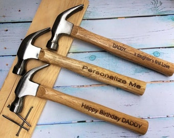 Groomsman Gift/Personalized Hammer/16 oz. hammer with Custom Message/Best Man Gift/Father of the Groom/Father of the Bride/Mens Gifts