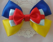 On Sale - Snow White Inspired Hair Bow