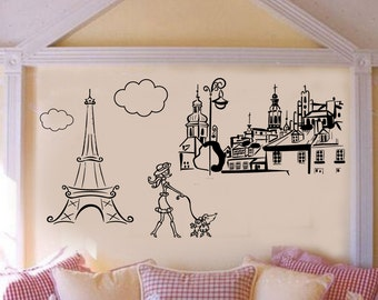 Paris Themed Wall Murals thronefieldcom