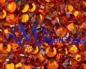 900pcs 2mm ss6 Sun Orange #7 Flat Back Round Resin Rhinestones -  Scrapboooking Gems MajorCrafts DIY Strass Faceted Diamante Craft Beads