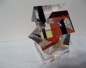 ON SALE!!!  OOAK Contemporary Modern Abstract Lucite Acrylic Sculpture Signed R Garrett 2087