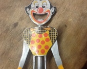 Vintage 1950's Clown Corkscrew/Bottle Opener