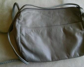 Small Grey Shoulder Bag