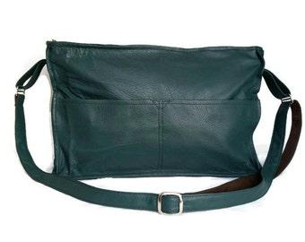 Leather Shoulder Purse, Fashion Bag, Cross body Handbag, Original Stylish Bags, Carmen