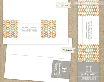 Wrap Around Address Labels | Printable or Printed Labels