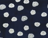 SALE - HATBOX by Alexia Abegg for Cotton + Steel - Desert Flower (Navy, 4005-001) - 1 Yard - Quilting Weight Cotton Fabri