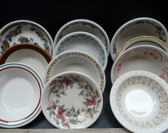 Vintage Restaurant ware, small bowl, variety, set of twelve