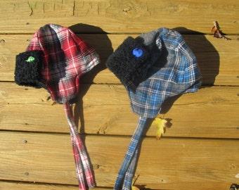 Fleece Lined Aviator Hat