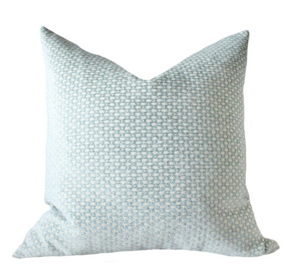 Decorative Pillow Green Blue Cover Sea Foam Water Aqua Cream