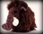 Handmade Melvin the Mammoth Plush