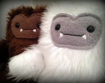 Handmade Eddie the Yeti Plush