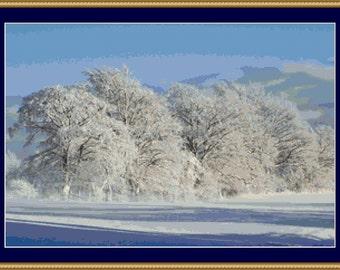 Winter Magic Cross Stitch Pattern