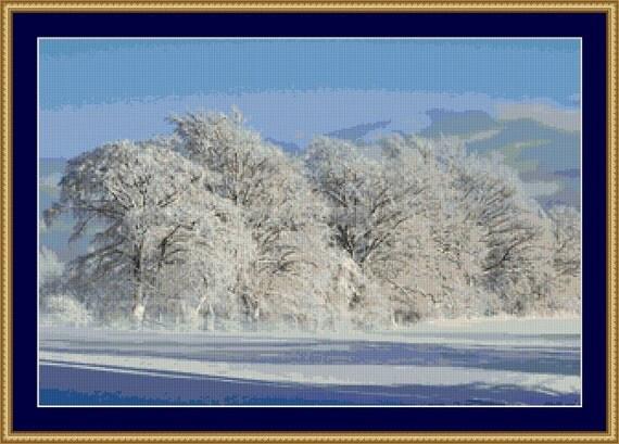 Winter Magic Cross Stitch Pattern /Digital PDF Files /Instant downloadable