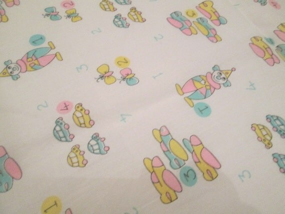 Baby 39 s room fabric pink blue pastel craft supply circus for Unisex baby fabric