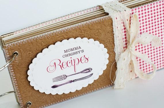 100 fait main recette journal livre de recette par - Livre de cuisine vierge ...