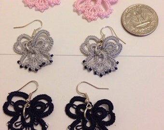 Tatted Special Occasion Earrings