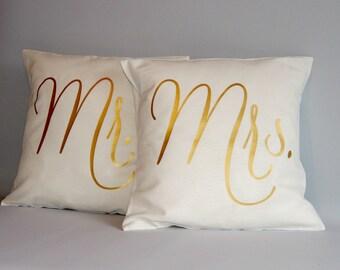 Harry Potter Pillow Gold Throw Pillow Cover 16x16 18x18