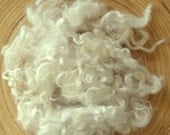 White Sheep Curls - Baby Wool Locks - Felting Supplies