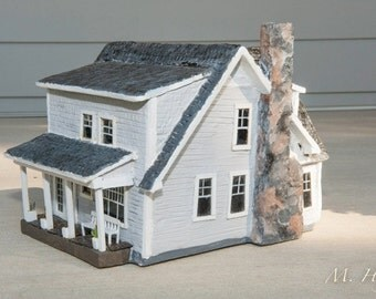 Homento  - Miniature replica of your home (or historical building, homeplace, etc.)