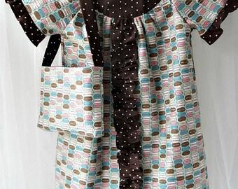 Little Girls 3T Dress with Matching Purse