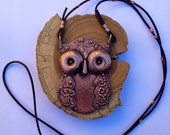 The Great Whoo - Riveted Copper Owl - Reserved for P