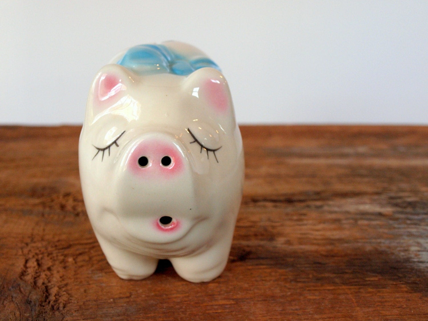 Hold For Jeannie Vintage Ceramic Piggy By Thevintageshopkeeper