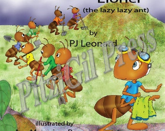 Book, Childrens:  Lionel (the lazy lazy ant)