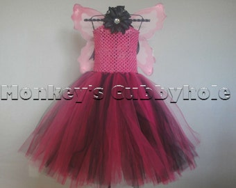 Scarlet Fairy Tutu Dress Set